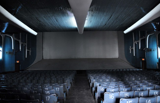 Inside the Neelam Theater, Sector 17, Chandigarh