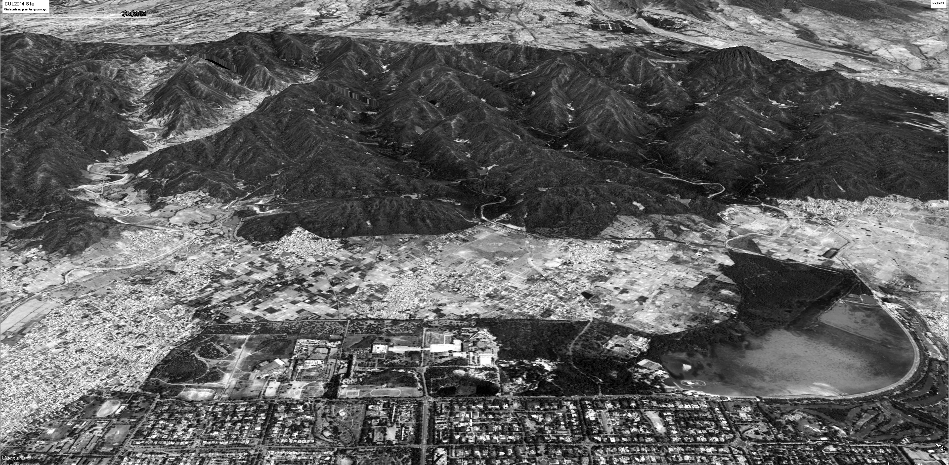 aerial view bw2